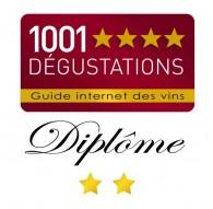 2 étoiles - guide 1001 dégustations